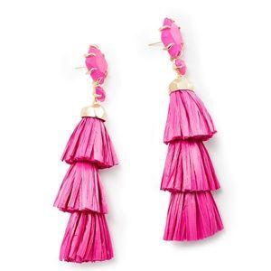 Kendra Scott Jewelry - Kendra Scott raffia Denise earrings